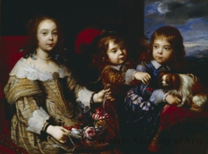 The Children of the Duc de Bouillon
