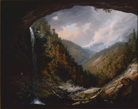 Kaaterskil Falls on the Catskill Mountains, Taken from Under the Cavern