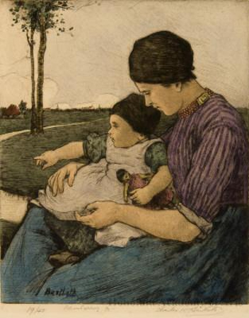Mother and Child, Volendam