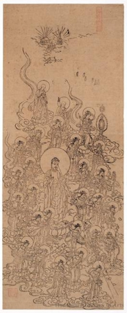 The Raigö of the Amida Triad and the Twenty-five Bodhisattvas